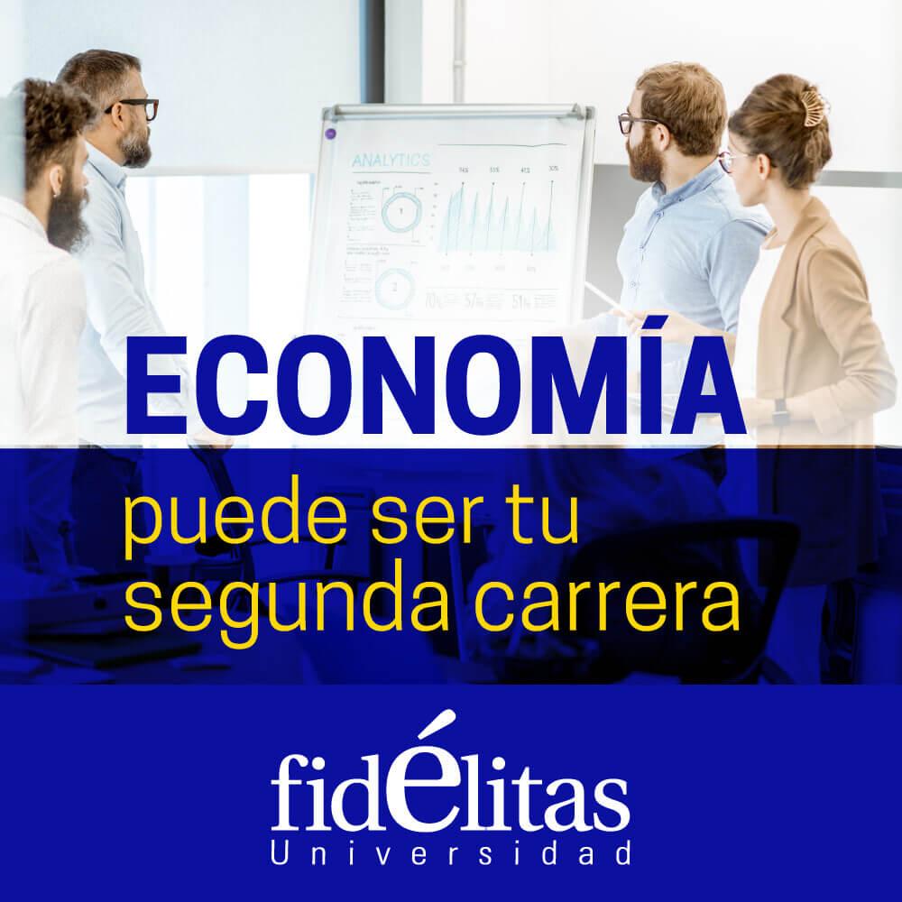Economía puede ser tu segunda carrera. Estas son las razones